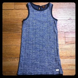 7 for all mankind long striped racer back tank